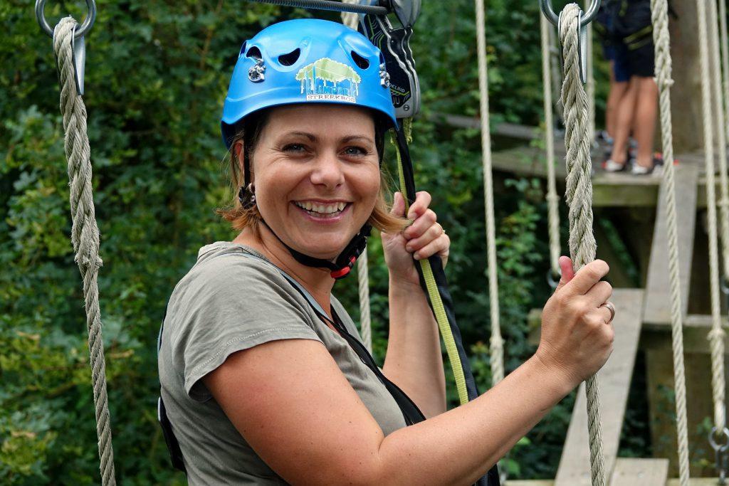 bedrijfsuitje klimmen klimbos Amsterdam klimpark Twiske