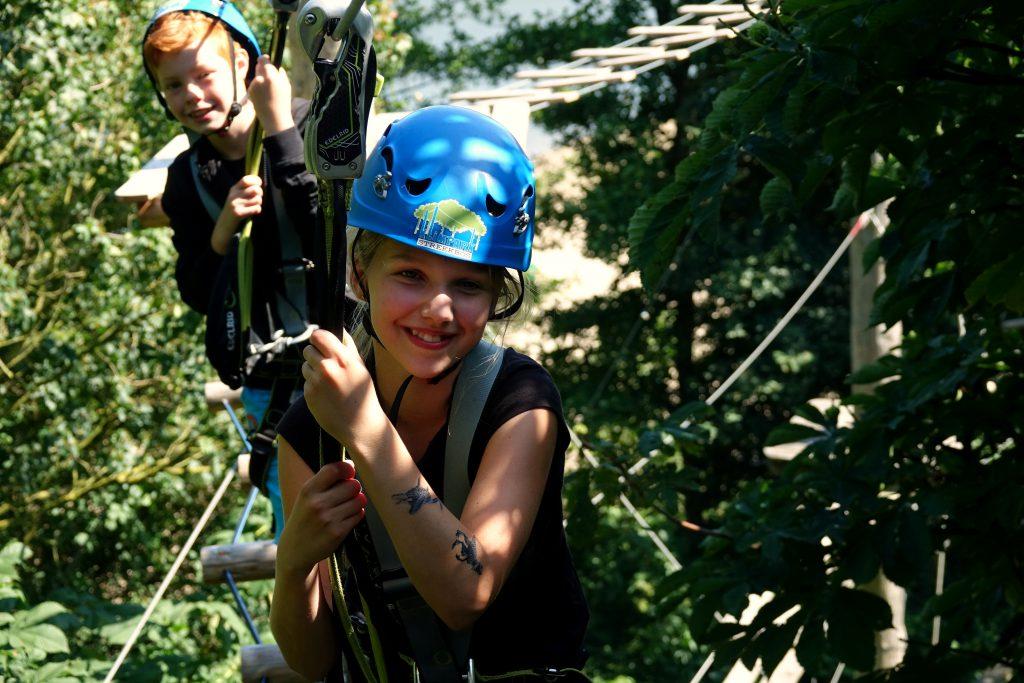 groepsuitje activiteiten groepen klimmen klimpark klimbos